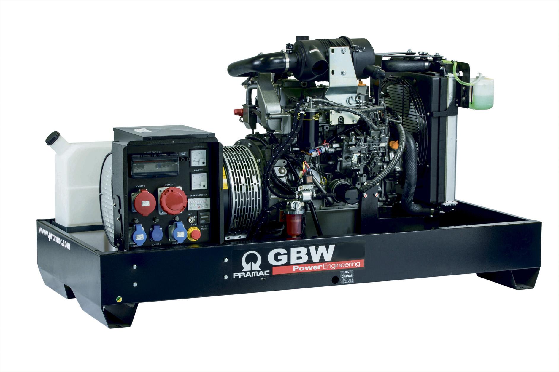 Дизельный генератор (электростанция) Pramac GBW30P