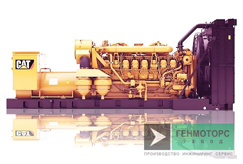 Дизельный генератор (электростанция) Caterpillar 3516B 1600 кВт