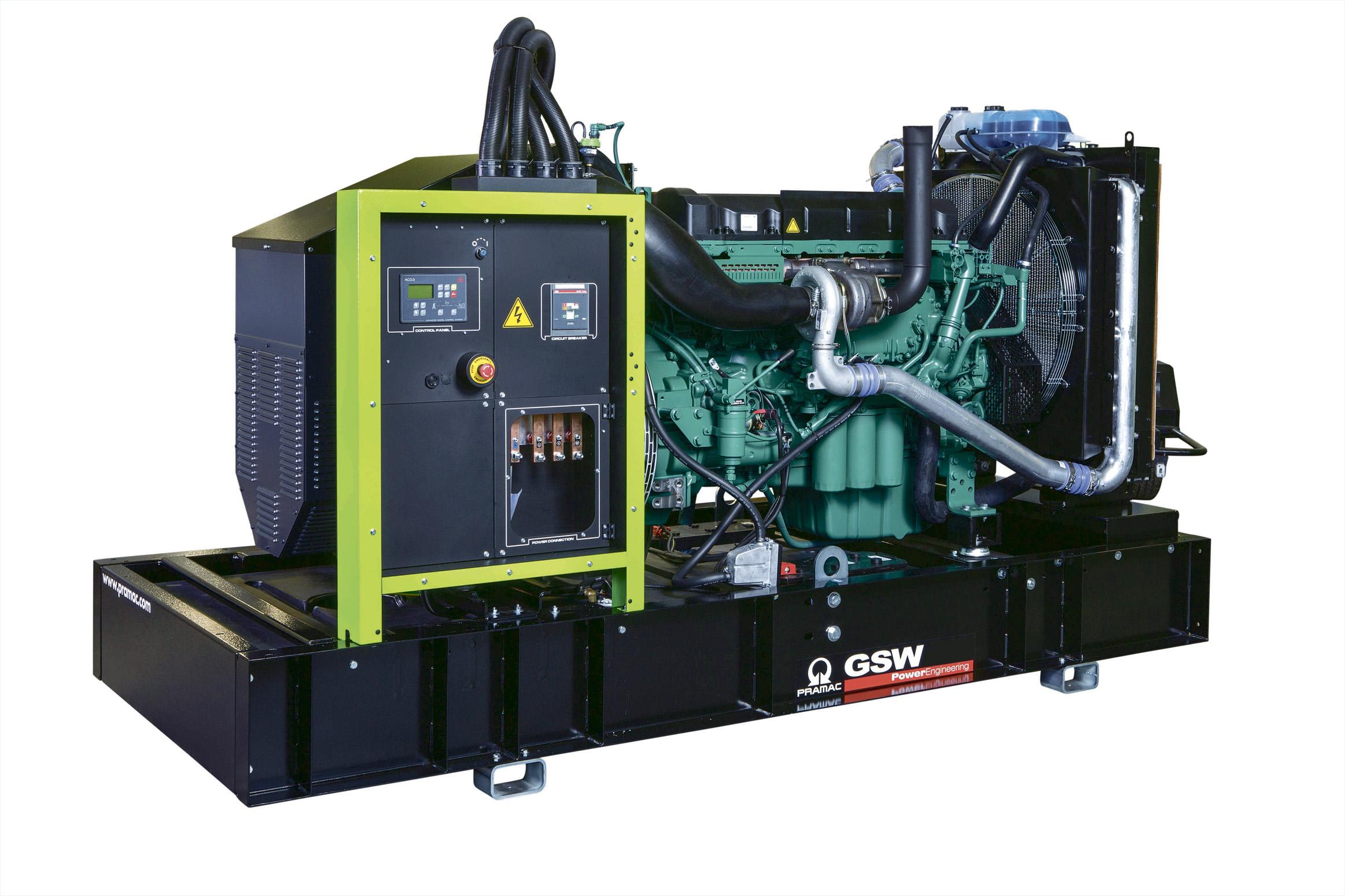 Дизельный генератор (электростанция) Pramac GSW370V
