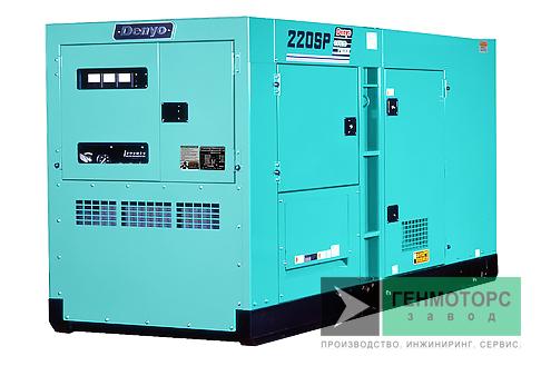 Дизельный генератор (электростанция) DENYO DCA-220SPK3