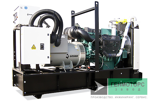 Дизельный генератор (электростанция) Gesan DVA 550E