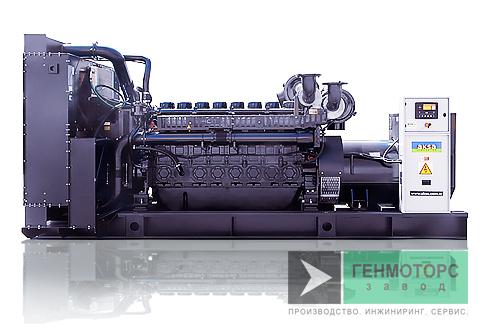 Дизельный генератор (электростанция) AKSA AP1125