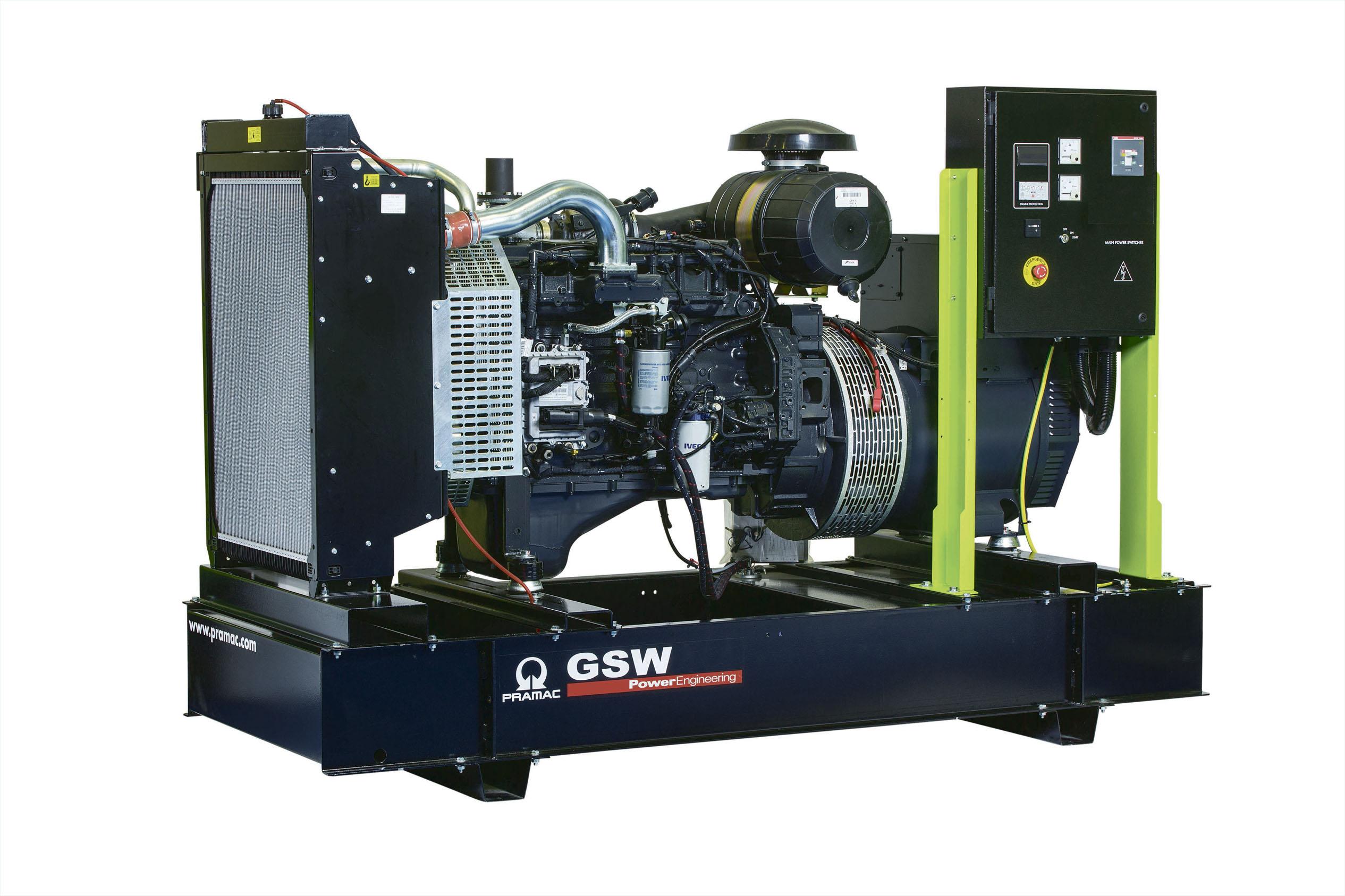 Дизельный генератор (электростанция) Pramac GSW220P