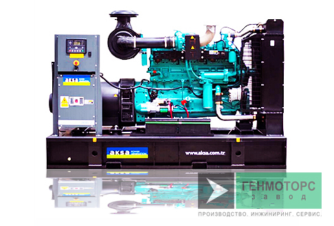 Дизельный генератор (электростанция) AKSA AC350
