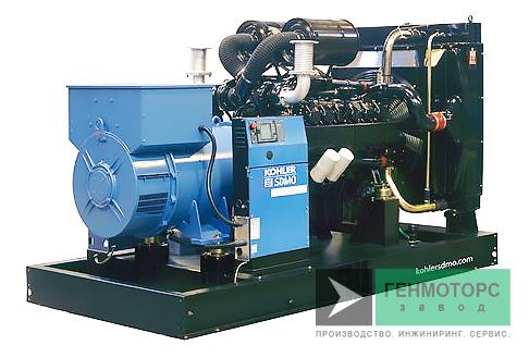Дизельный генератор (электростанция) SDMO D830