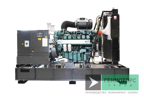 Дизельный генератор (электростанция) Gesan QI 630 ME