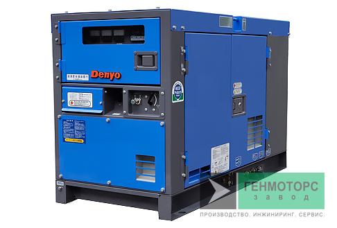 Дизельный генератор (электростанция) DENYO DCA-20LSK