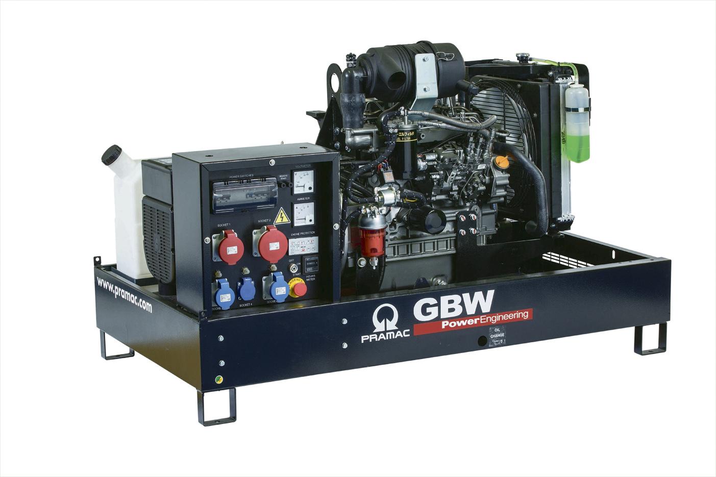 Дизельный генератор (электростанция) Pramac GBW10Y