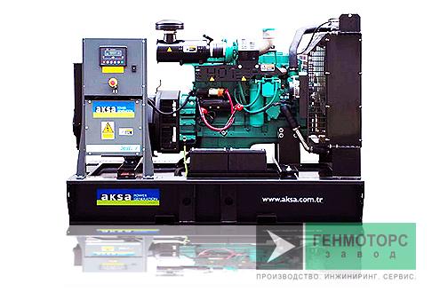 Дизельный генератор (электростанция) AKSA APD200C