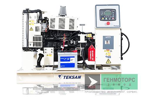 Дизельный генератор (электростанция) Teksan TJ21MC
