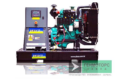 Дизельный генератор (электростанция) AKSA APD30C