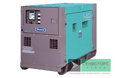 Дизельный генератор (электростанция) DENYO DCA-75SPI