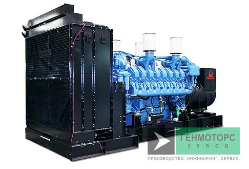 Дизельный генератор (электростанция) Pramac GSW515M