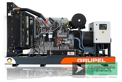 Дизельный генератор (электростанция) G1669PKGR Grupel