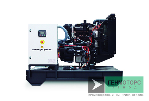 Дизельный генератор (электростанция) Grupel G33MSST