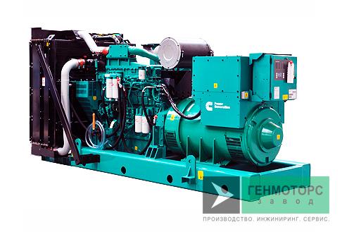 Дизельный генератор (электростанция) Cummins C825D5