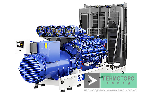 Дизельный генератор (электростанция) FG Wilson P2000-1 / P2000-1E