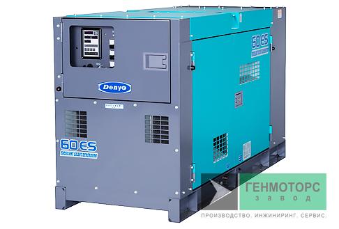 Дизельный генератор (электростанция) DENYO DCA-60ESI2
