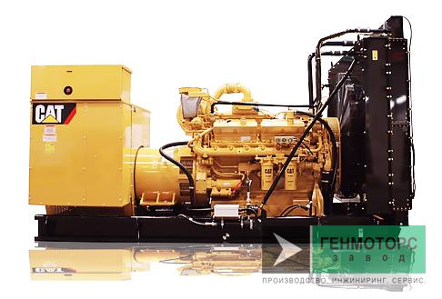 Дизельный генератор (электростанция) Caterpillar 3412C 648 кВт