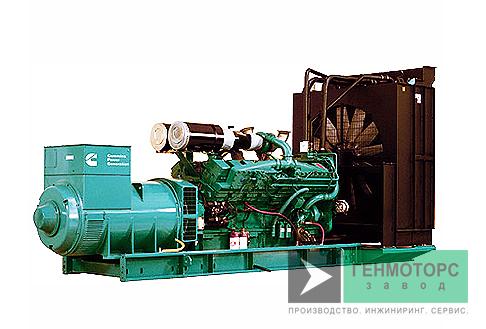 Дизельный генератор (электростанция) Cummins C1675D5